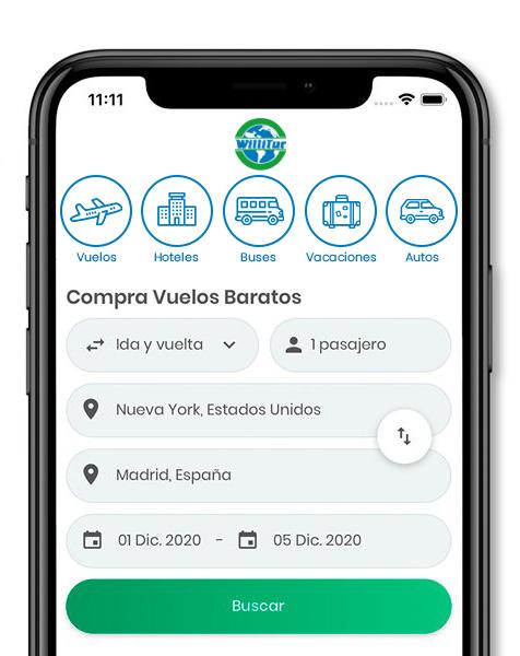 App Willitur Organización Aviatur